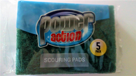 Power action 5 scouring pads (Code 3280)
